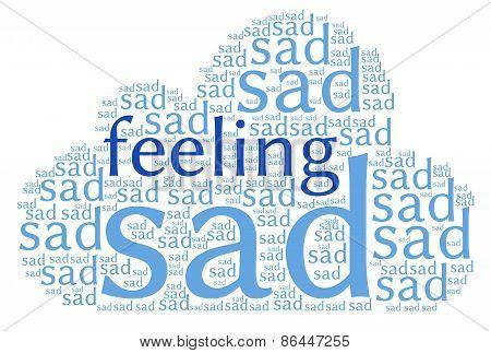 Feeling Sad Word Cloud