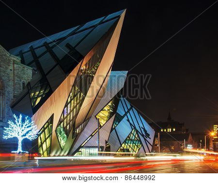 Royal Ontario Museum Rom In Toronto