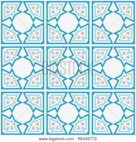 Arabic Tile Background