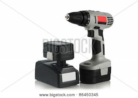 Battery, Cordless Drill, Screwdriver, Charger
