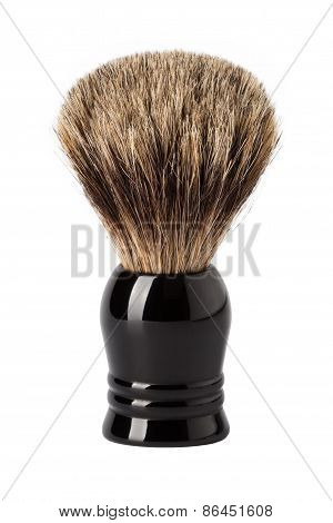 Shaving Brush isolated On White