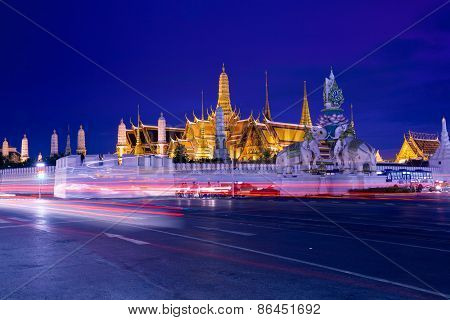 Grand Palace in Bangkok, Thailand.