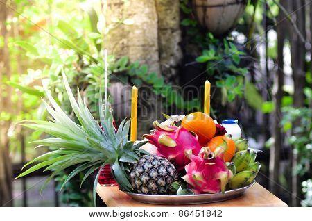 Fruits sacrifice