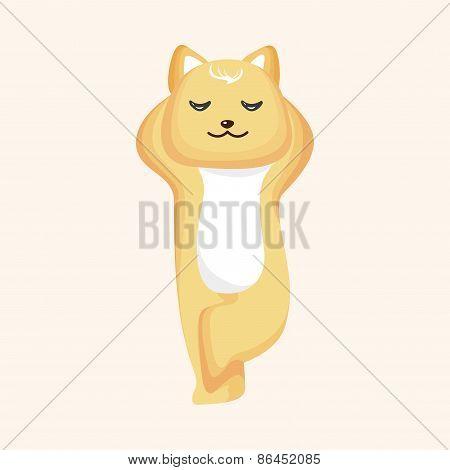 Animal Cat Cartoon Theme Elements