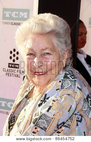 LOS ANGELES - MAR 26:  Anne V. Coates at the 50th Anniversary Screening Of