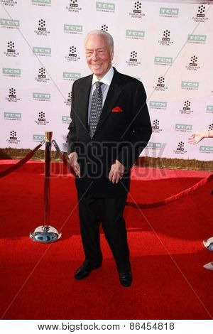 LOS ANGELES - MAR 26:  Christopher Plummer at the 50th Anniversary Screening Of
