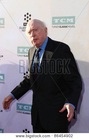 LOS ANGELES - MAR 26:  Norman Lloyd at the 50th Anniversary Screening Of