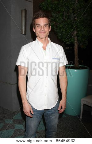 LOS ANGELES - MAR 26:  Greg Rikaart at the Young & Restless 42nd Anniversary Celebration at the CBS Television City on March 26, 2015 in Los Angeles, CA