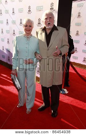 LOS ANGELES - MAR 26:  Shirley Jones, Marty Ingle at the 50th Anniversary Screening Of