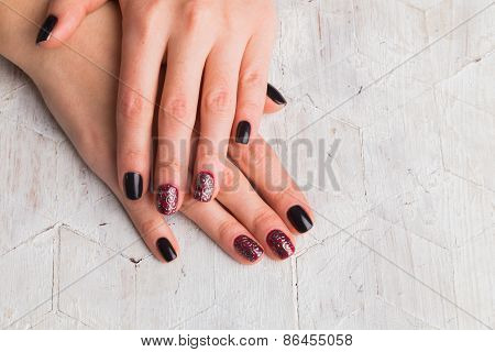 Manicure - Beautiful manicured woman's hands