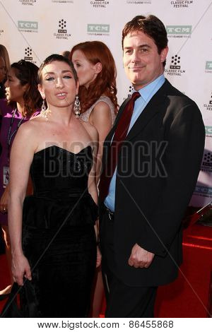 LOS ANGELES - MAR 26:  Naomi Grossman, Zach Galligan at the 50th Anniversary Screening Of