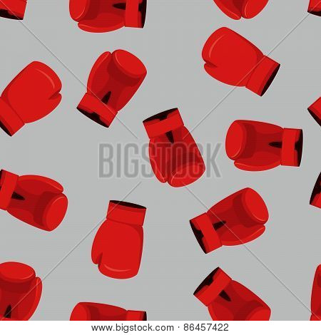 boxing gloves  Seamless Pattern, sporst background
