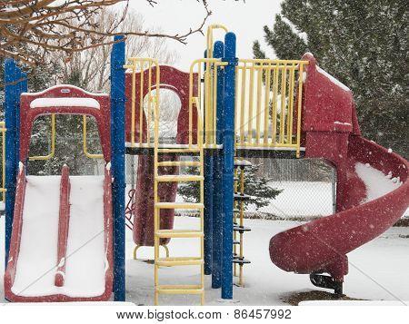 Winter Playground Equipment,ladder, Slides, Bars