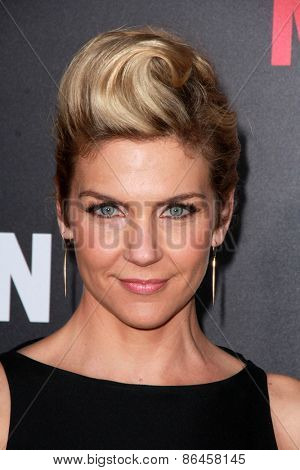 LOS ANGELES - MAR 25:  Rhea Seehorn at the Mad Men Black & Red Gala at the Dorthy Chandler Pavillion on March 25, 2015 in Los Angeles, CA