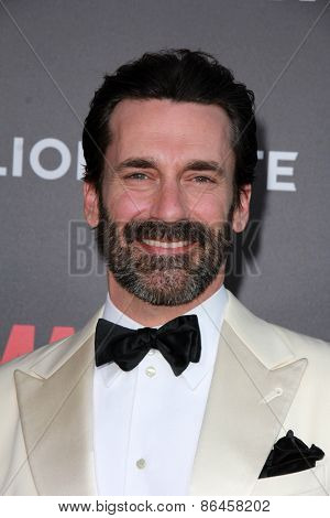 LOS ANGELES - MAR 25:  Jon Hamm at the Mad Men Black & Red Gala at the Dorthy Chandler Pavillion on March 25, 2015 in Los Angeles, CA