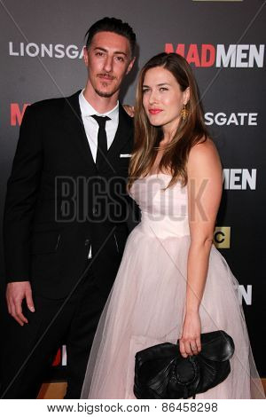 LOS ANGELES - MAR 25:  Eric Balfour at the Mad Men Black & Red Gala at the Dorthy Chandler Pavillion on March 25, 2015 in Los Angeles, CA