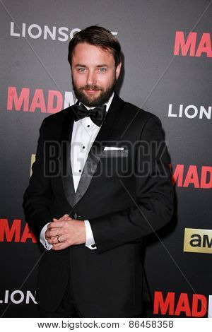 LOS ANGELES - MAR 25:  Vincent Kartheiser at the Mad Men Black & Red Gala at the Dorthy Chandler Pavillion on March 25, 2015 in Los Angeles, CA