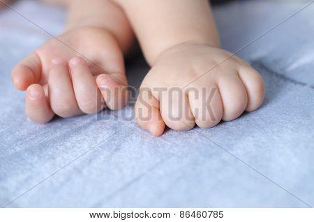 Sleeping Baby Finger