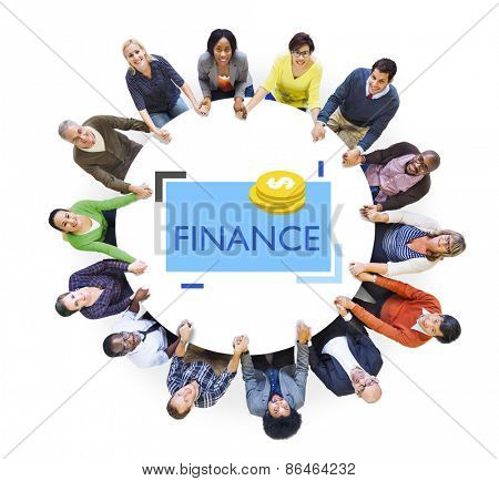 Diversity Community Finance Economy Interest Support Concept