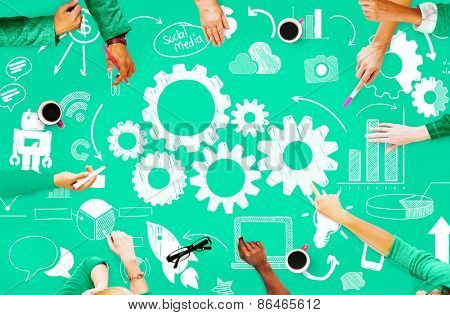 Strategy Functionality Business Startup Planning Innovation Concept
