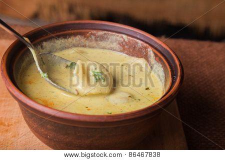 Oriental soup
