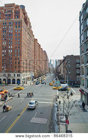 Manhattan New York West Side - 10Th Avenue