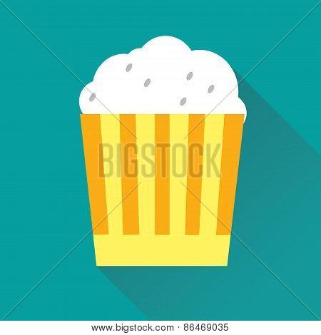 Pop Corn Flat Icon