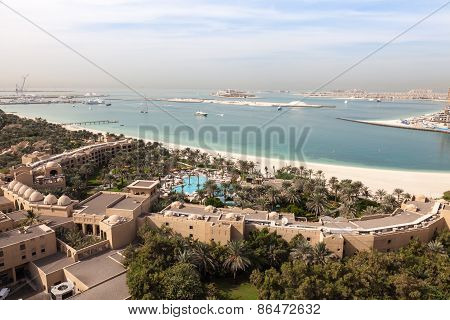 View Of The Arabian Gulf Coast