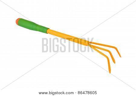 Gardening fork trowel