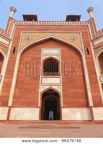 Humayun's Tomb In Delhi, India