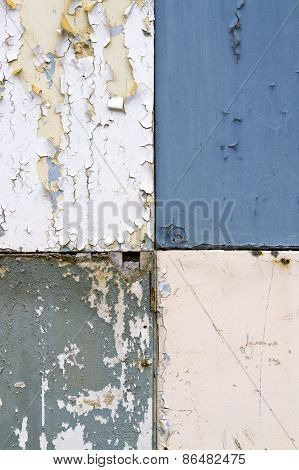 Peeling Paint Background Texture