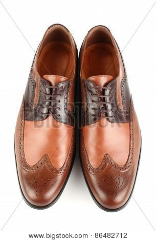 Classic brown shoes