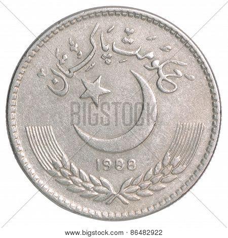 Pakistani Rupees Coin
