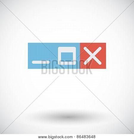 Web navigation button