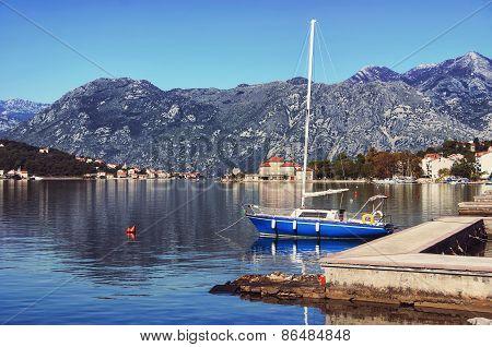 Bay Of Kotor In Autumn