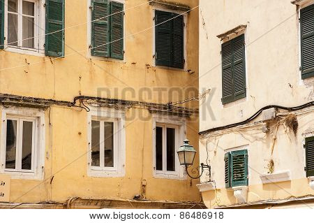 Streets Of Corfu Town