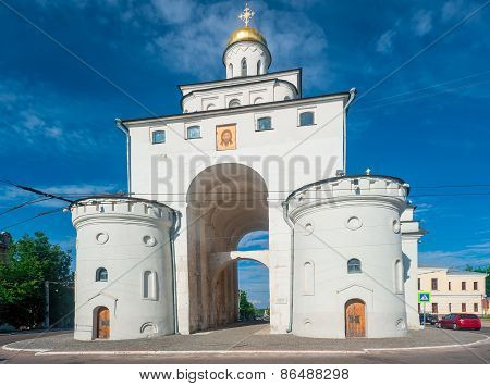 Landmark - Golden Gate In Vladimir, Russia