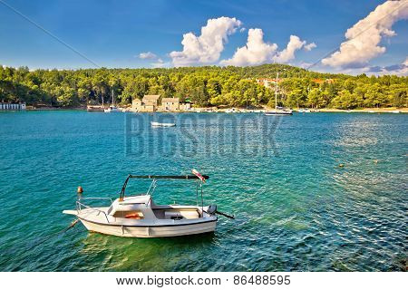 Stari Grad On Hvar Island Waterfront View