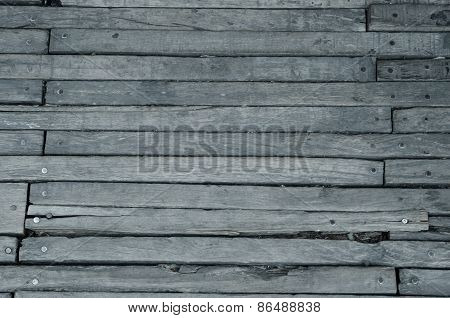 Texture Of Wooden Boards Floor