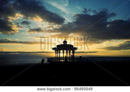 Brighton Pavilion sunset