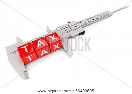 Caliper Measured Tax Cubes