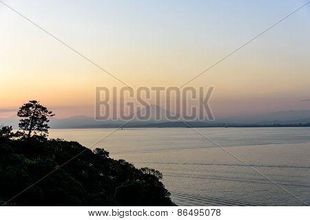 Sea And Mt.fuji.