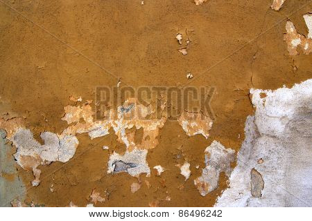 Cracked Stucco - Grunge Background