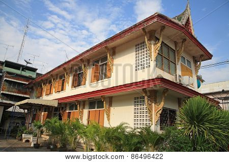 Thai Monk House Or Dwelling