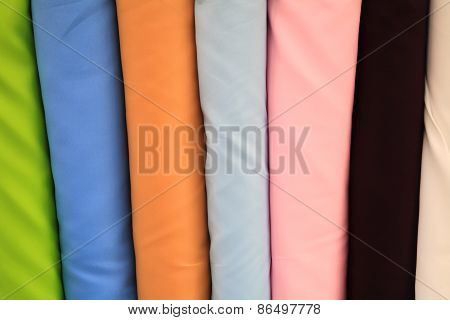 Plain Multicolor Fabric For Sale