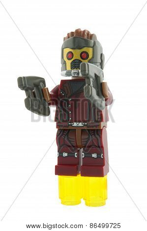 Starlord Custom Lego Minifigure