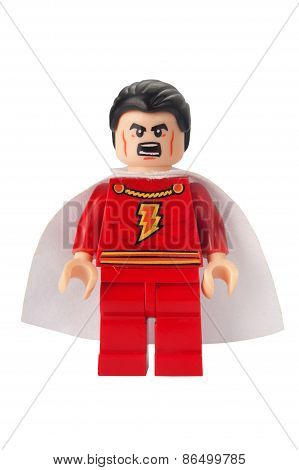 Captain Marvel Custom Lego Minifigure
