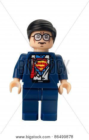 Clark Kent Custom Lego Minifigure