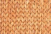stock photo of twist  - Twisted straw background from aquatic hyacinth close up - JPG