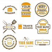 picture of food label  - Set of logo - JPG